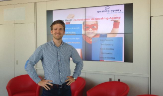 Antoine Gentil in Lyon for Speaking-Agency