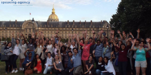 Speed recruting - photo de groupe - Speaking Agency