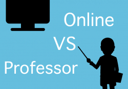 online courses vs professor