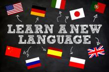 Apprenez une nouvelle langue