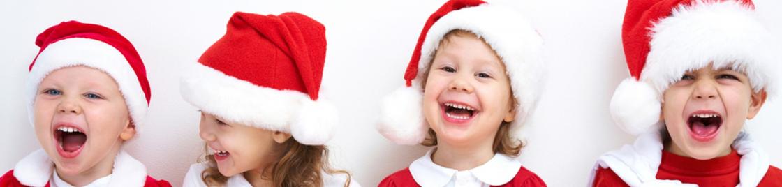 Enfants à Noël